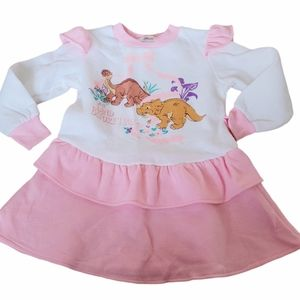 The Land Before Time Vintage 3T Ruffle Dress
